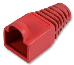 PRO POWER SH001 6 RED  Strain Relief Boot 6Mm Red 10/Pack